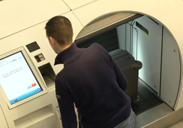 Self service check-in increases terminal throughput - BagDrop